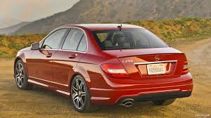 mercedes c250 sedan 2013 mercedes c250 sedan sport package plus rear hd