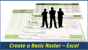 Staff Roster Template Excel Free Excel Roster Create A Staff Roster Roster Excel Pc Learning