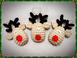 image result for free crochet reindeer ornament pattern