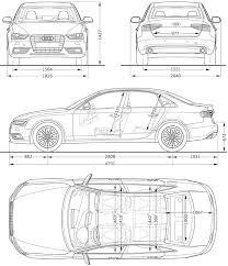 audi size 2012 audi a4 sedan dimensions