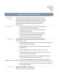 video resume tips football coach resume samples tips and templates football coach resume