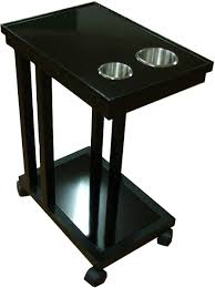 drink table food cart and drink carts for poker tables