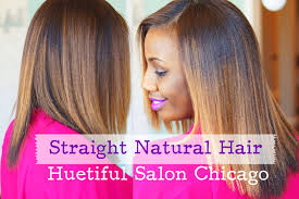 prett hair weave in chicago straight natural hair at huetiful salon chicago youtube