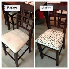 How To Reupholster Dining Room Chairs by Reupholstered Dining Room Chairs Reupholstering Dining Chair Backs