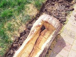How To Make Planters by Making A Log Planter For Flowers A Proverbs 31 Wife