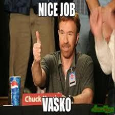 Nice Job Meme - thank job meme chuck norris approves 79175 memeshappen