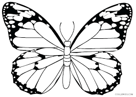 coloring page butterfly monarch monarch butterfly coloring pages print the crypt