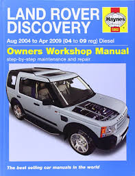 land rover discovery diesel service and repair manual 04 09