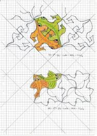 tessellations written lesson to make your own make a design that