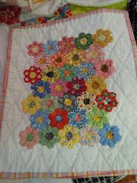 flower garden quilt pattern july 2011 busy as can be