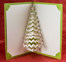 pop up tree christmas tree popup card popup card shop