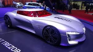 renault trezor interior concept renault trezor geneva motor show 2017 youtube