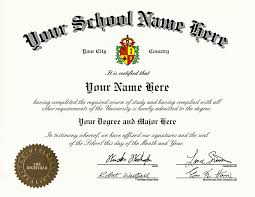 name of high school in usa custom high school diploma with arched school name and left