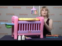 Little Tikes High Chair Little Tikes 4 In 1 Baby Born Nursery From Mga Entertainment Youtube