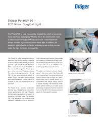 polaris 50 dräger pdf catalogue technical documentation