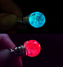 color changing led light up quartz pendant my