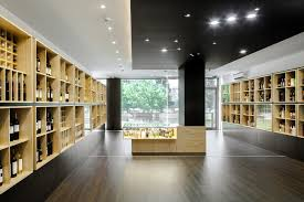wine store design in portugal stylishly exhibiting a thousand