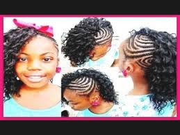 hairstyles for 8 year old girls braid hairstyles for little african black girls youtube