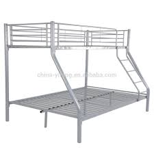 Metal Bunk Bed With Desk Metal Bunk Beds Acme Furniture Limbra Twin Over Queen Metal