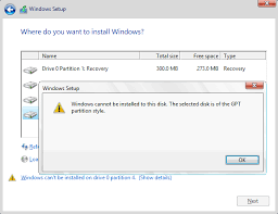 cannot format gpt drive fix the selected disk is of the gpt partition style eassos blog