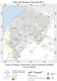 Map Cozumel Mexico by Map Of Hurricane Shelters In San Miguel