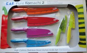ebay kitchen knives kai pure komachi 2 6 piece knife set 6 stainless steel knives