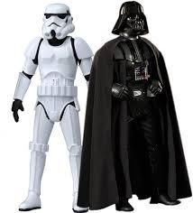 halloween costumes stormtrooper emob star wars stormtrooper u0026 darth vader big size action figure