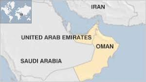 map of oman and uae oman uncovers network but uae denies any links news