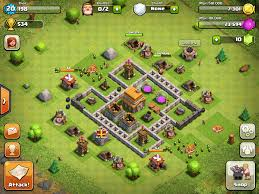 Home Design Game Levels Clash Of Clans Base Designs Level 5 Clash Of Clans Wiki Guides