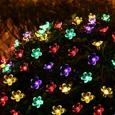 Solar String Outdoor Lights by Popular Flowers Solar Light Outdoor Buy Cheap Flowers Solar Light