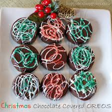 chocolate covered oreos christmas version happy deal happy day