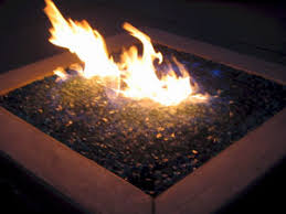Fire Pit Glass by Fire Pit Glass On Fire Fireplace Glass Fireglass Glass And Ice On