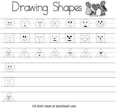 kindergarten shape worksheets worksheets