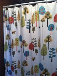 Animal Shower Curtain Shower Curtain With A Woodland Animal Theme 10 00 Luckymamadee