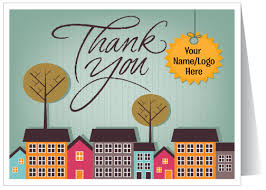 thank you real estate card 15204 harrison greetings