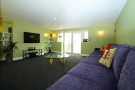 livingroom leeds bold and funky green and purple living room for you students in