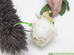 Plastic Flowers 3 Ways To Clean Artificial Flowers Wikihow
