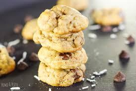 crispy u0026 chewy toasted coconut chocolate chip cookies u2014 home