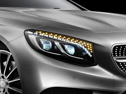 Party Glasses Swarovski Crystal by Mercedes S Class Coupe Headlights Have Swarovski Crystals