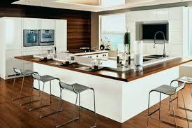 mod鑞e cuisine avec ilot central cuisine en u avec bar luxury modele cuisine avec ilot central table