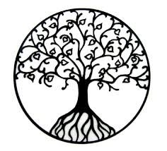26 tree of stencils and ideas