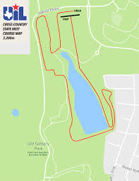 Texas State Park Map by 2017 Uil Cross Country State Meet Course Layouts U2014 Cross Country