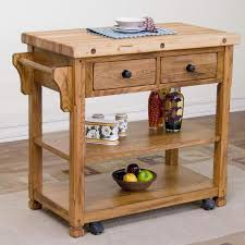 Butcher Block Microwave Cart Page 15 Of 48 Butcher Block Portable Kitchen Island Dining