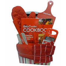 cooking gift baskets classic cookbook gift set features the 11th edition of the betty