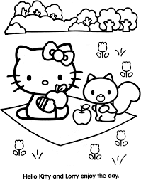 coloriage hello kitty à imprimer gratuit liberate