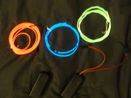 Halloween Lighting Effects Ideas by Diy El Wire Kits Diy El Wire Bra Light Up Clothing Holiday Fun