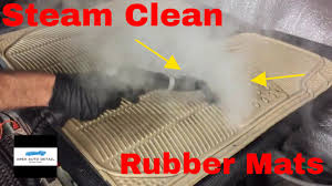 Beautiful Rubber Mats How To Steam Clean Rubber Floor Mats Auto Detail Youtube