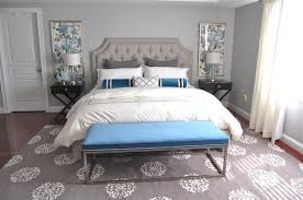 bedroom best blue and gray bedroom ideas with nice wall mirror