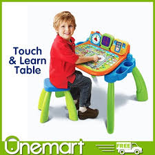 vtech table touch and learn qoo10 vtech touch table toys