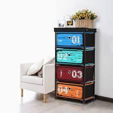 petit meuble pour chambre ikayaa armoire meuble de rangement organiser vêtements livres